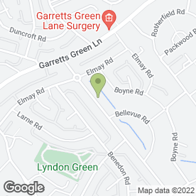 Map of Lyndon Safety Ltd in Birmingham, west midlands