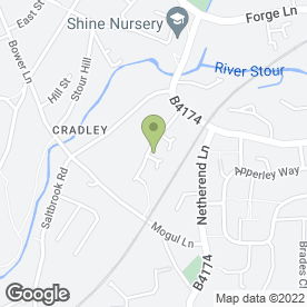 Map of Factory Plant Associates Ltd in Halesowen, west midlands