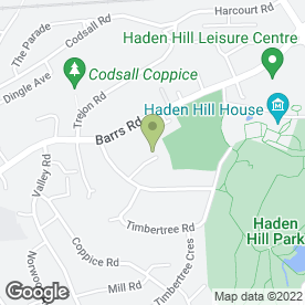 Map of DIVAWHEELZ DRIVING SCHOOL in Cradley Heath, west midlands