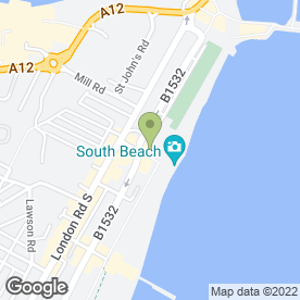 Map of J V Trading Ltd in Lowestoft, suffolk