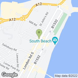 Map of Beauty Matters in Lowestoft, suffolk