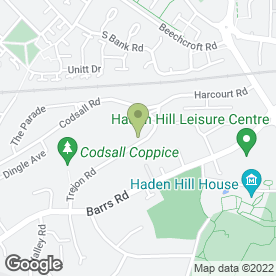 Map of ANDREW P. HARRIS DECORATING in Cradley Heath, west midlands