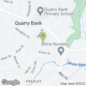 Map of Start 2 Finish Couriers Ltd in Brierly Hill, west midlands