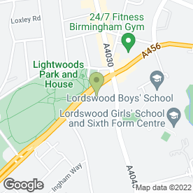 Map of Powar Builders in Birmingham, west midlands