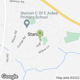 Map of First Choice Bar Hire in Stanion, Kettering, northamptonshire