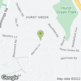 Map of Costcutter in Hurst Green, Halesowen, west midlands