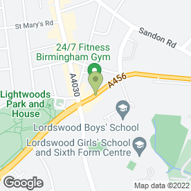 Map of Bunnys Club in SMETHWICK, west midlands