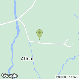 Map of Affcot Lodge in Affcot, Church Stretton, shropshire