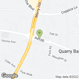 Map of Jantino in Quarry Bank, Brierley Hill, west midlands