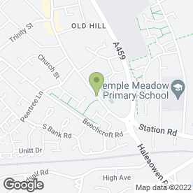 Map of Brotherton Cycles in Cradley Heath, west midlands