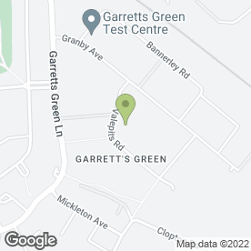 Map of Action Shutters (Midlands) Ltd in Garretts Green Trading Est, Birmingham, west midlands