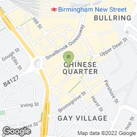 Map of Ken Ho Chinese Restaurant in Birmingham, west midlands