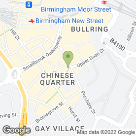 Map of Cafe Soya in Birmingham, west midlands