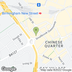Map of Richer Sounds plc in Birmingham, west midlands