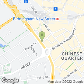 Map of Chop & Wok in Birmingham, west midlands