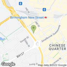 Map of Enterprise Rent-A-Car in Birmingham, west midlands