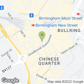 Map of High & Mighty in Queensway, Birmingham, west midlands
