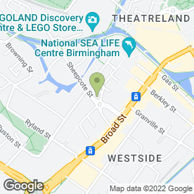 Map of SKIPS IN BIRMINGHAM in BIRMINGHAM, west midlands