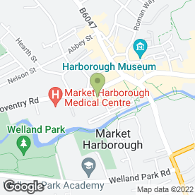 Map of Midlands Co-operative Foodstore in Market Harborough, leicestershire