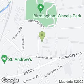 Map of Sandwell Foods Ltd in Bordesley Green, Birmingham, west midlands