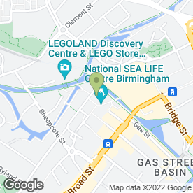 Map of Skilled Security Services Ltd in Birmingham, west midlands