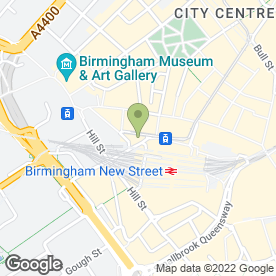 Map of Hush Hair & Beauty in Birmingham, west midlands