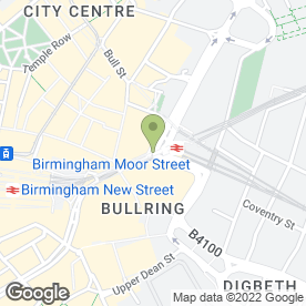 Map of Bratz in Birmingham, west midlands