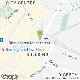 Map of Destination Skin Clinic in Birmingham, west midlands