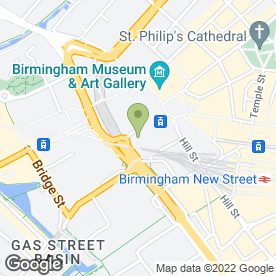 Map of Athens Restaurants Ltd in Birmingham, west midlands