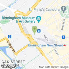Map of Davies & Partners in Birmingham, west midlands
