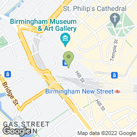 Map of Mobile Car Valeting Birmingham in Birmingham, west midlands