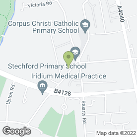Map of Kinder Care Day Nursery in Stechford, Birmingham, west midlands