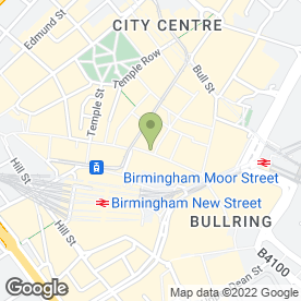 Map of Britannia Birmingham in Birmingham, west midlands
