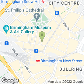 Map of White Stuff in Birmingham, west midlands