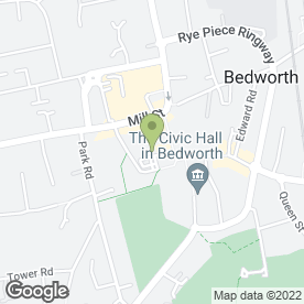 Map of Hear4u in Bedworth, warwickshire
