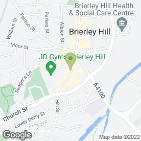 Map of Stephensons in Brierley Hill, west midlands