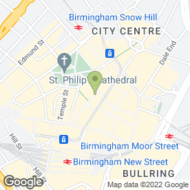 Map of Mint Nail & Beauty Bar in Birmingham, west midlands