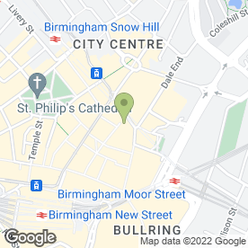 Map of Pizza Hut (UK) Ltd in Birmingham, west midlands