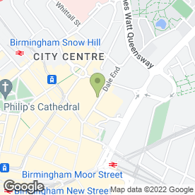 Map of Showsec International Ltd in Birmingham, west midlands