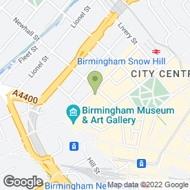 Map of Challinors in Birmingham, west midlands