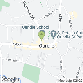 Map of HUNT & COOMS SOLICITORS in Oundle, Peterborough, cambridgeshire