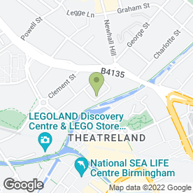 Map of Complete Mortgage Solutions in Birmingham, west midlands