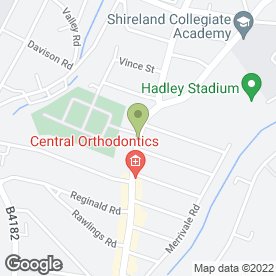 Map of Hotel Dinara in Smethwick, west midlands