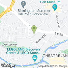 Map of HNS SIGNS in Birmingham, west midlands