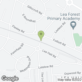 Map of P S Pearce in Birmingham, west midlands