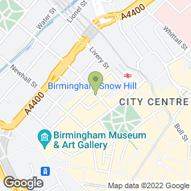 Map of CLEMENTS & CHURCH in Birmingham, west midlands
