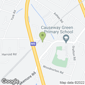 Map of Otis Vehicle Rental Ltd in Rowley Regis, west midlands