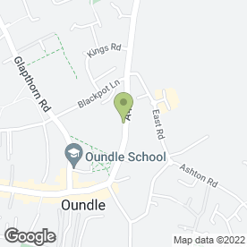 Map of BULLEY DAVEY in Oundle, Peterborough, cambridgeshire