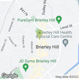 Map of Brierley Sausage in Brierley Hill, west midlands