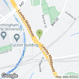 Map of PMT House of Drums in Birmingham, west midlands